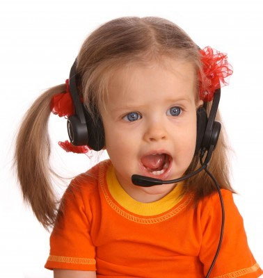 Don't let your child answer the phone at your holistic practice!