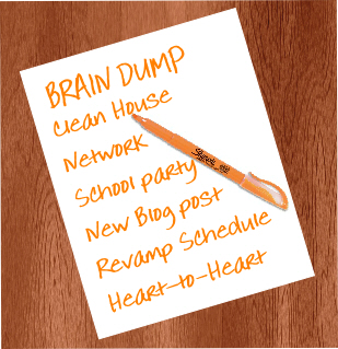 A brain dump helps you set your holistic practice building priorities