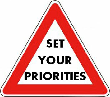To build your practice, know your priorities