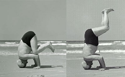 Moshe Feldenkrais claimed that for BenGurion standing on his head was much more than a physical act.