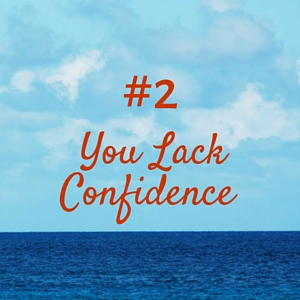 Problem #2 -- Thinking about your work as a luxury leads to a lack of confidence when you speak to new people