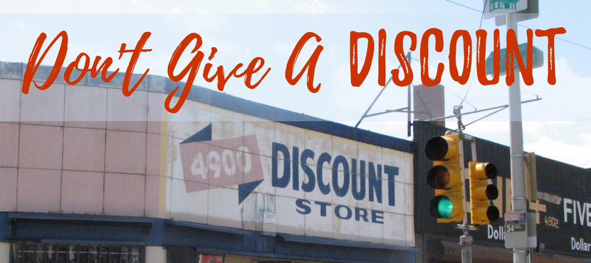 Please don't discount your work!