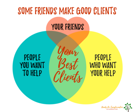 some friends are clients