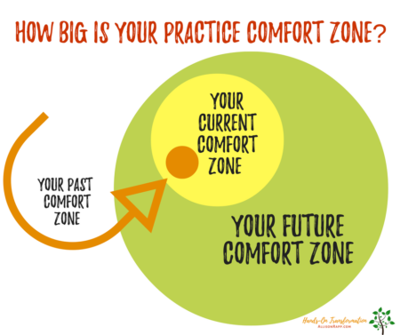 Grow Your Comfort Zone Organically
